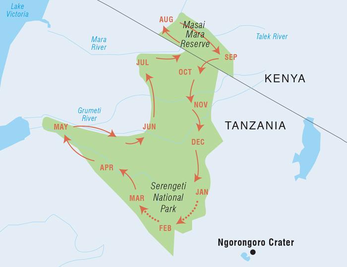 User submitted photo of Maasai Mara/ Serengeti