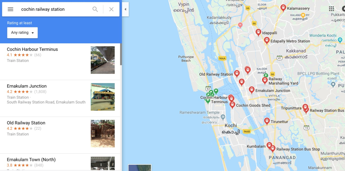 User submitted photo of Kochi