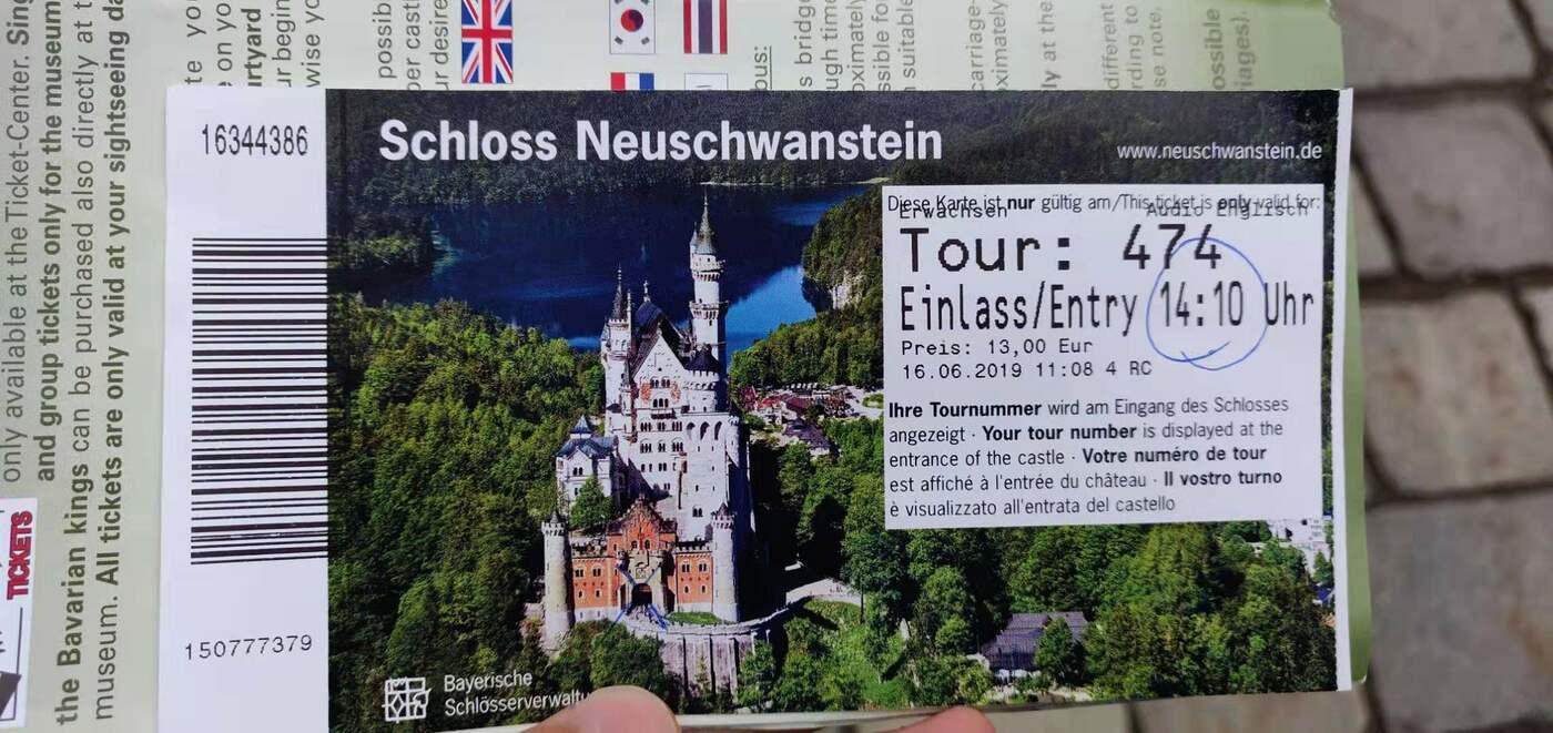 User submitted photo of Neuschwanstein Castle