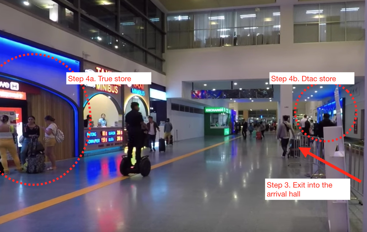 User submitted photo of Phuket International Airport