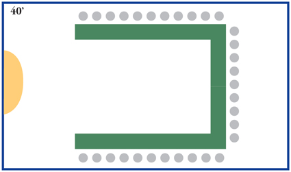 U-Shape Meeting Seating