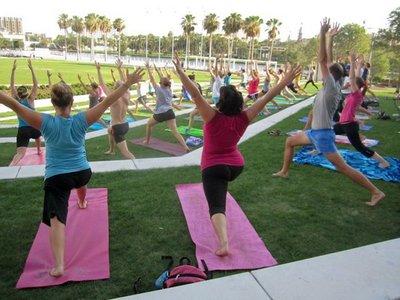 Yoga Downtown Tampa