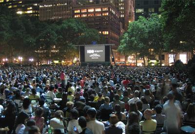 Bryant Park Summer Film Fest