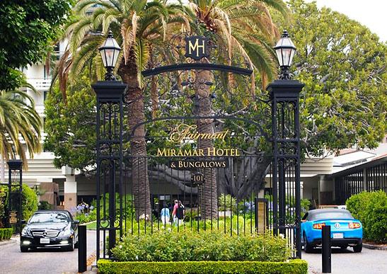 Fairmont Hotel In Santa Monica Ca