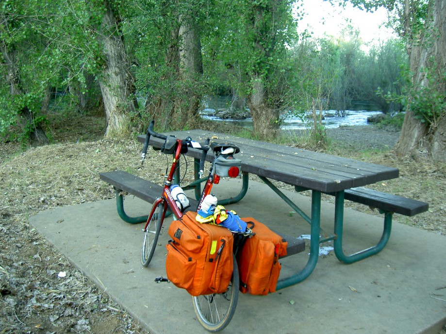 Trip photo #9/39 1st campsite - on the Stanislaus river