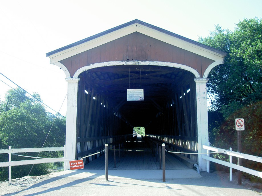 Trip photo #10/39 Knight's Ferry covered bridge