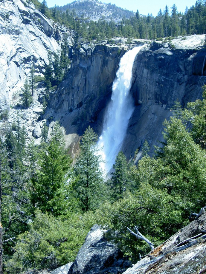 Trip photo #2/39 Nevada Falls - lost time stamp
