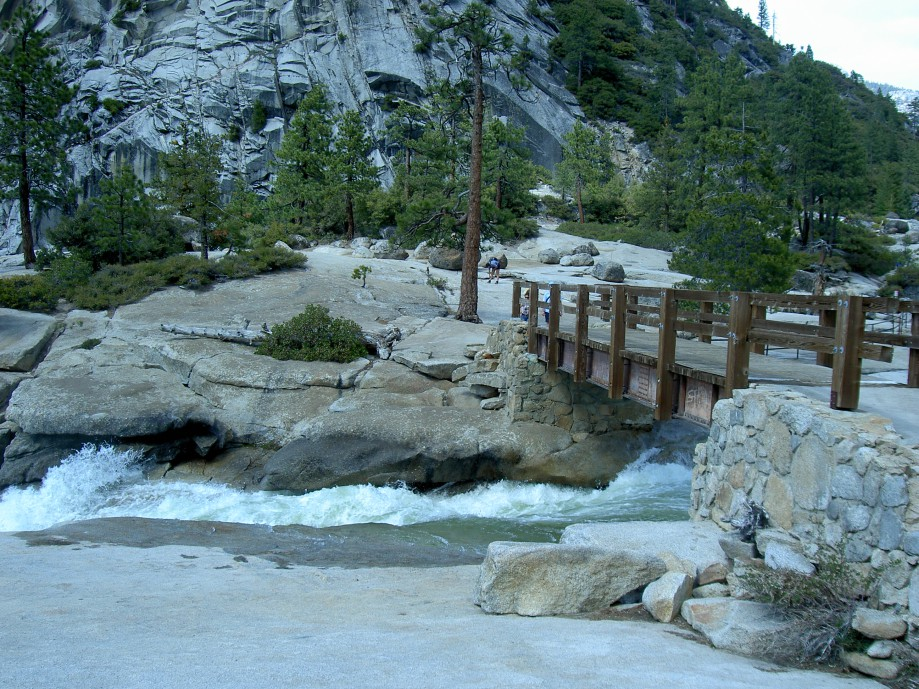 Trip photo #34/39 Bridge at top of Nevada Falls