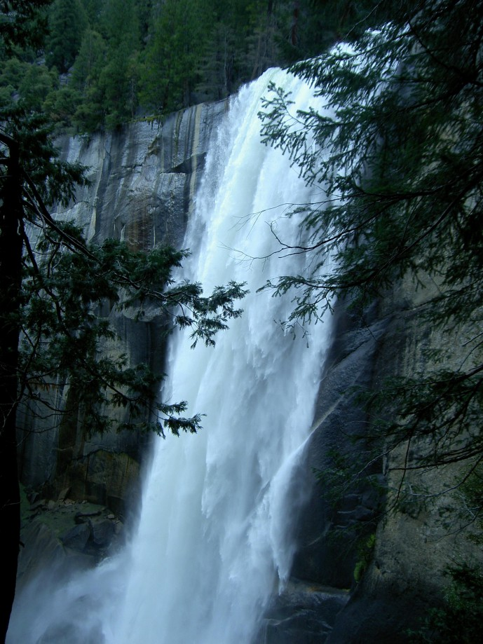 Trip photo #3/39 Vernal Falls - lost time stamp