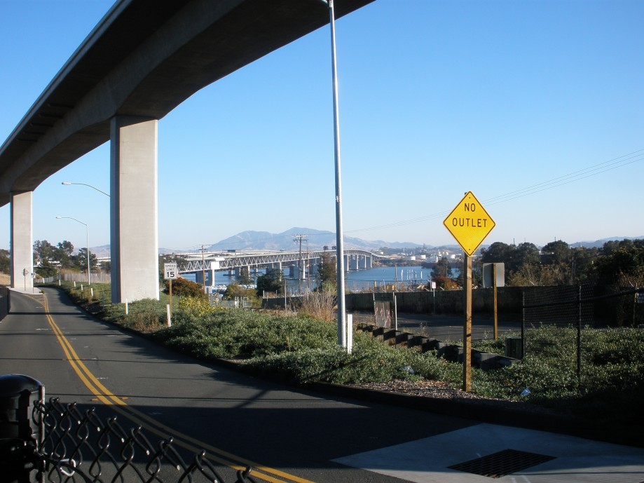 Trip photo #23/24 Approach to Benicia Bridge