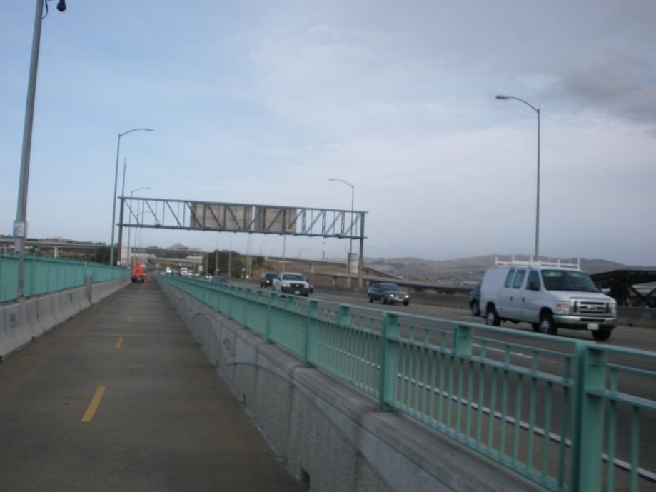 Trip photo #2/36 Crossing the Benicia Bridge on my way to the ride start