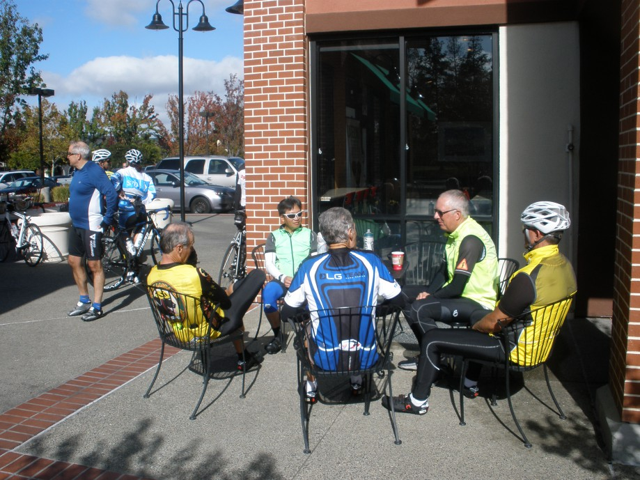 Trip photo #5/13 Refreshment stop at Starbucks on Portola