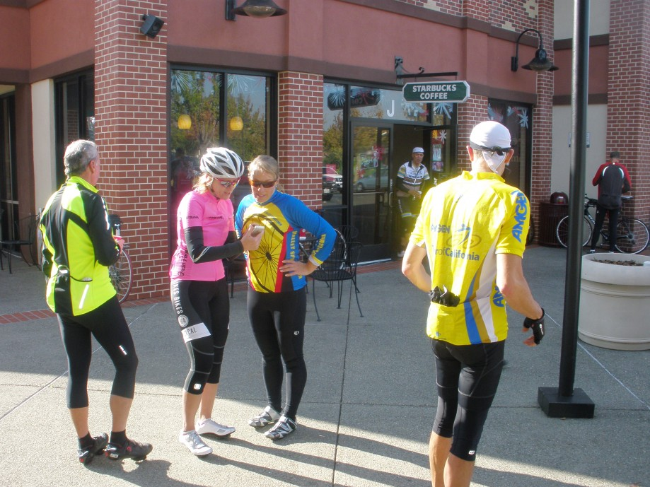 Trip photo #4/10 Refreshment stop at Starbucks on Portola