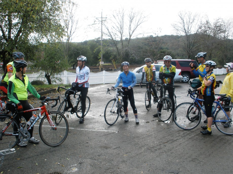 Trip photo #2/8 Regroup at Sunol RR station