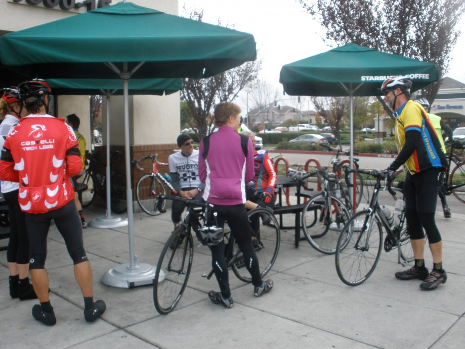 Trip photo #5/13 1st Starbucks stop at Vasco and Scenic