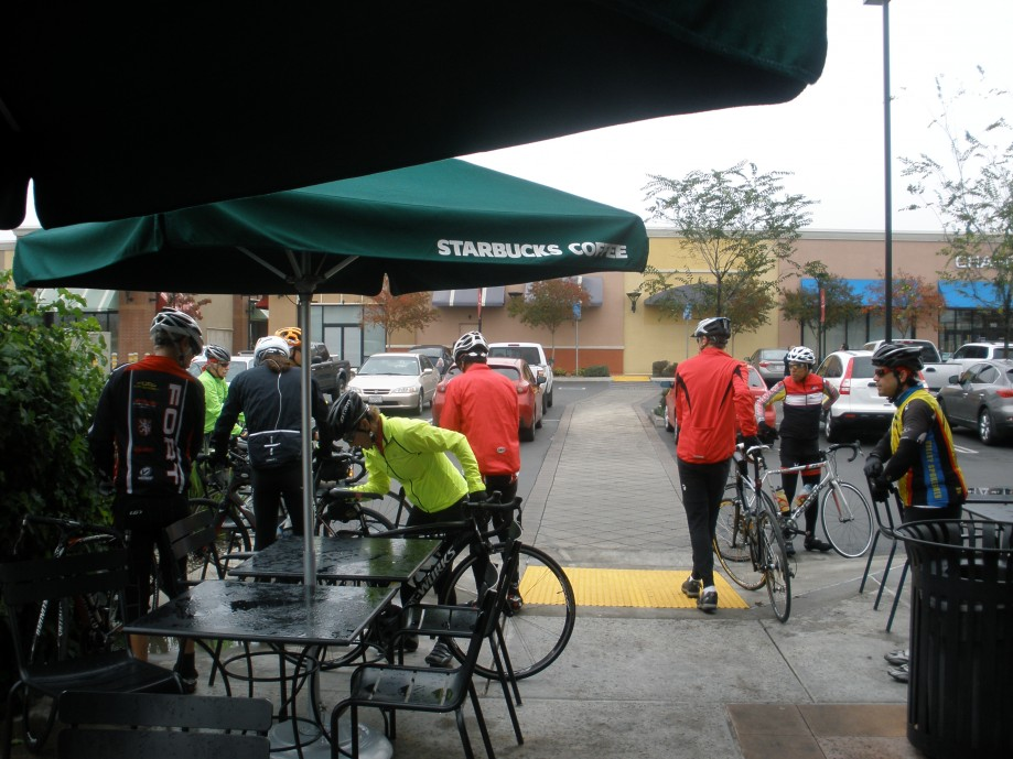 Trip photo #5/13 Starbucks stop in Tracy
