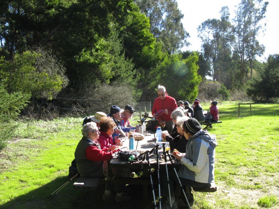 Trip photo #16/20 Return to Bort Meadow for lunch