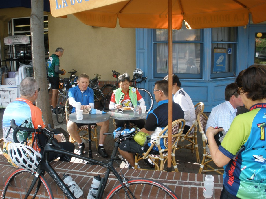 Trip photo #10/15 Refreshments at La Boulange bakery
