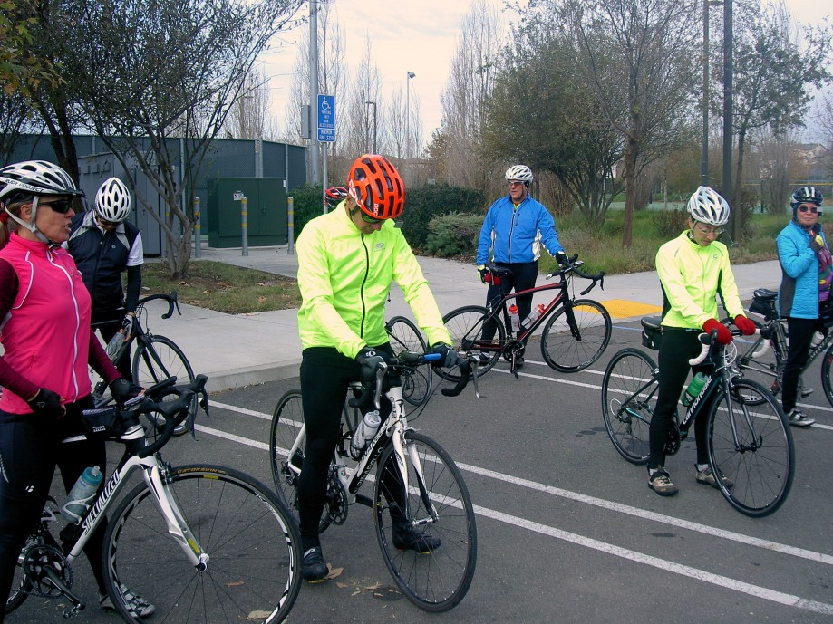 Trip photo #3/22 RR stop and regroup at Fallon Sports Park