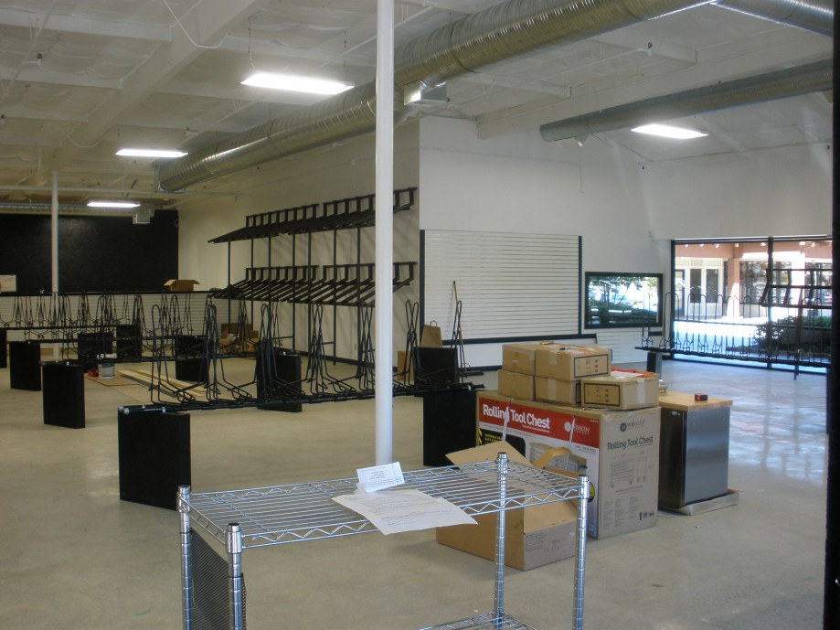 Trip photo #8/21 New Alamo location of Livermore Cyclery - opens in a couple weeks