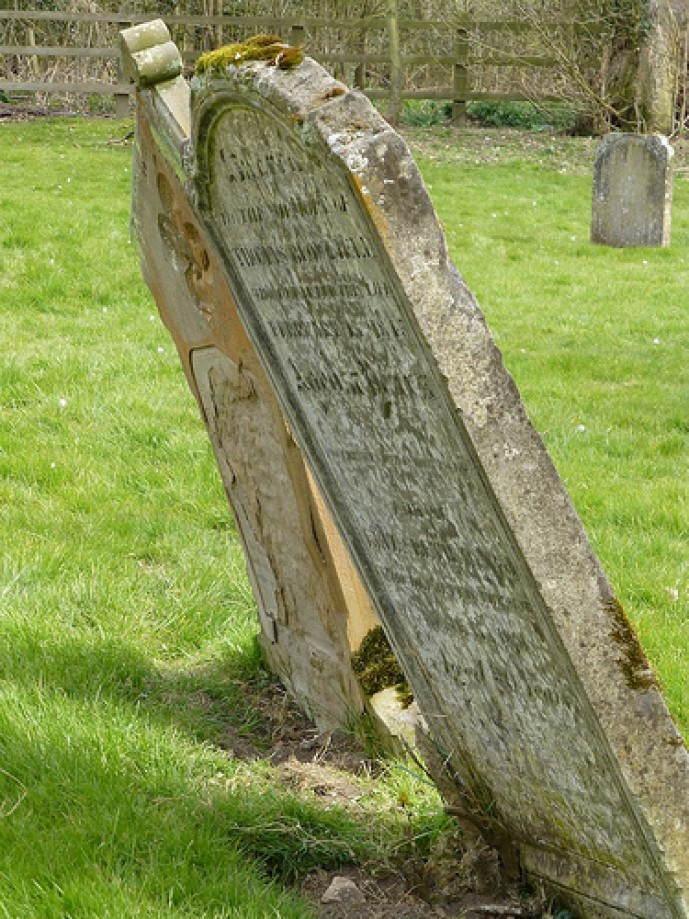 Trip photo #4/5 Grave stone Little Gidding