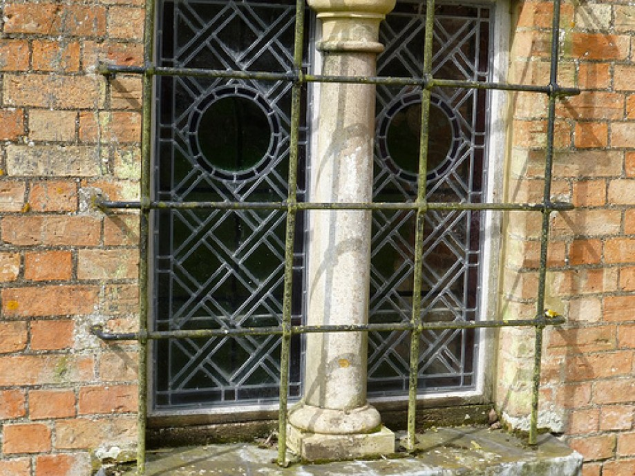 Trip photo #5/5 Church window Little Gidding