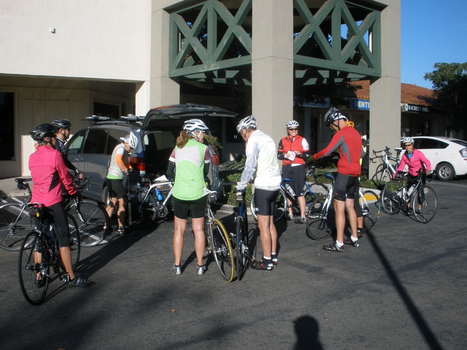 Trip photo #1/12 Ride start at Dublin location of Livermore Cyclery