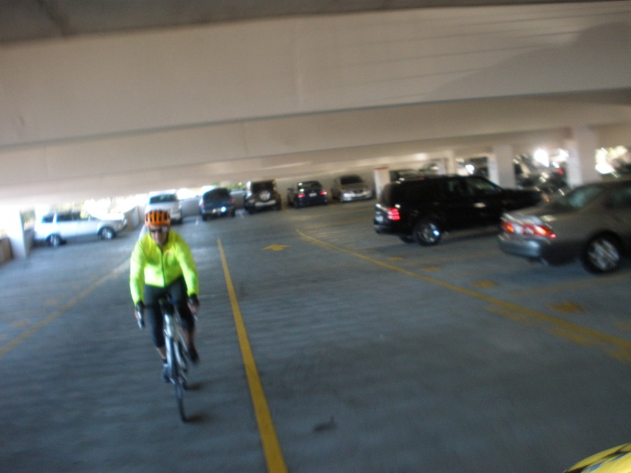 Trip photo #2/12 Through the BART parking structure to cross I-580