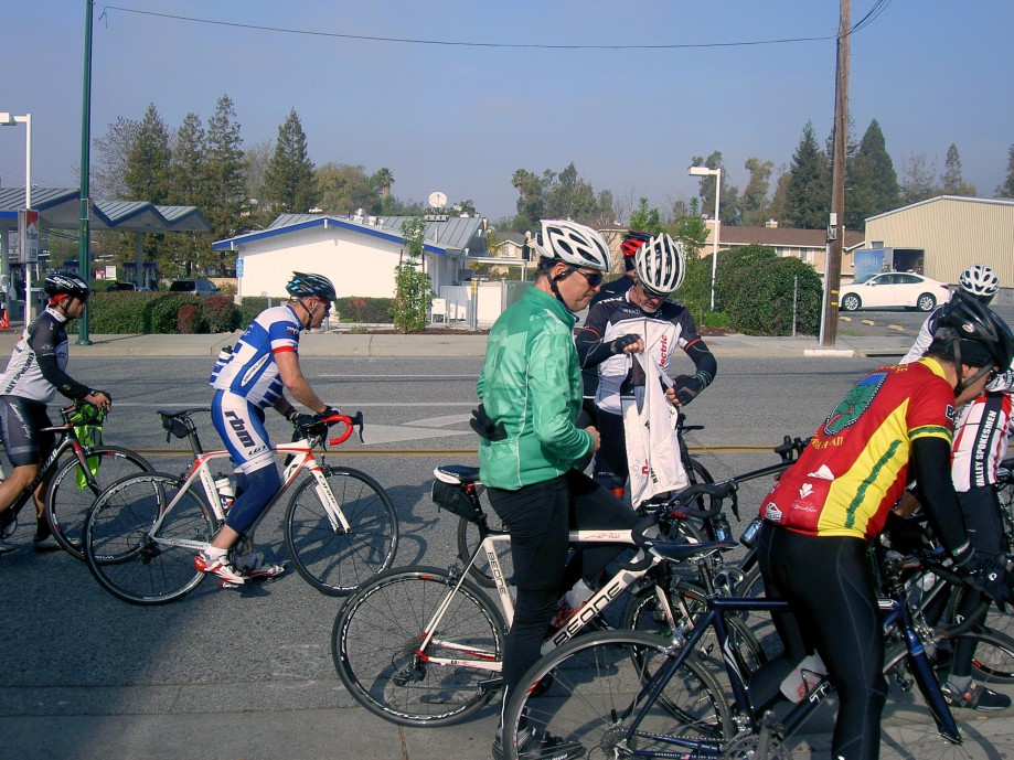 Trip photo #9/11 Starting up Sierra Rd.