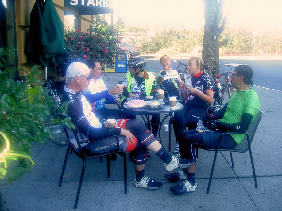 Trip photo #11/14 Refreshment stop at Theater Square in Orinda