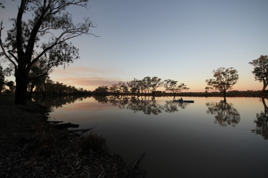 Trip photo #31/107 Caliguel Lagoons near Condamine QLD - Amazing birdlife, sunsets. Free camping