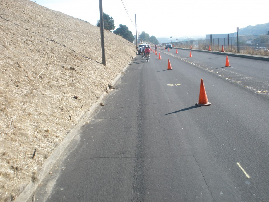Trip photo #3/15 Erosion control work on Dublin Blvd.