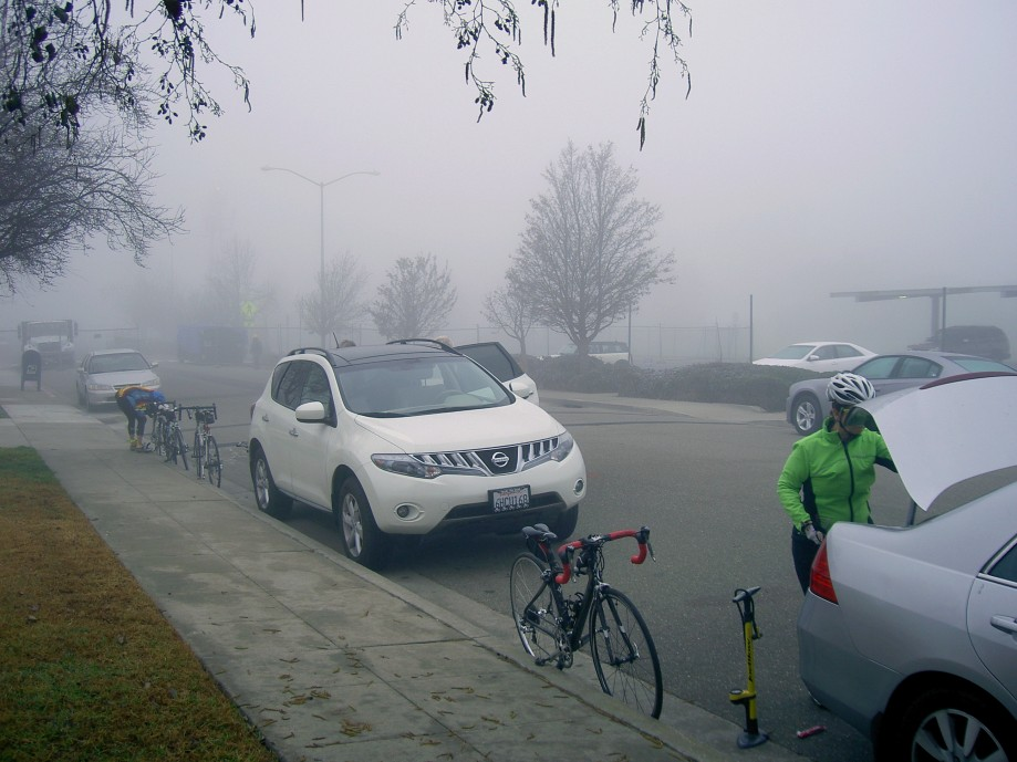 Trip photo #1/12 Start at the airport on a foggy morning