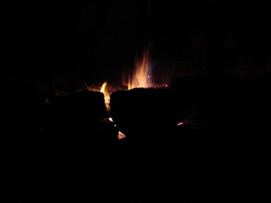 Trip photo #8/25 Fire at Night