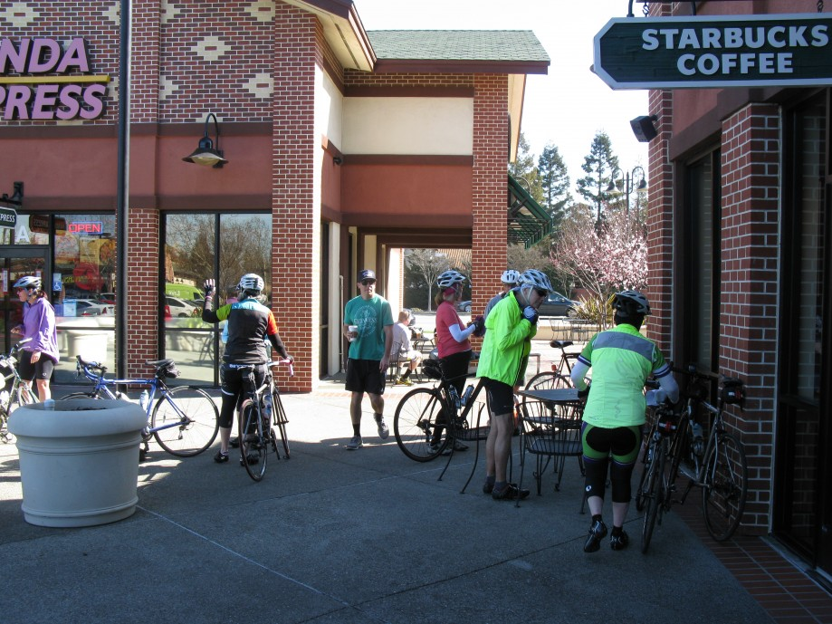 Trip photo #4/14 Refreshment stop at Starbucks on Portola
