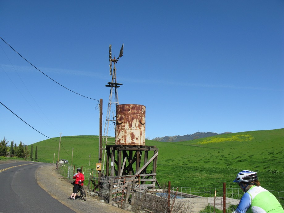 Trip photo #12/14 Old windmill landmark at the summit