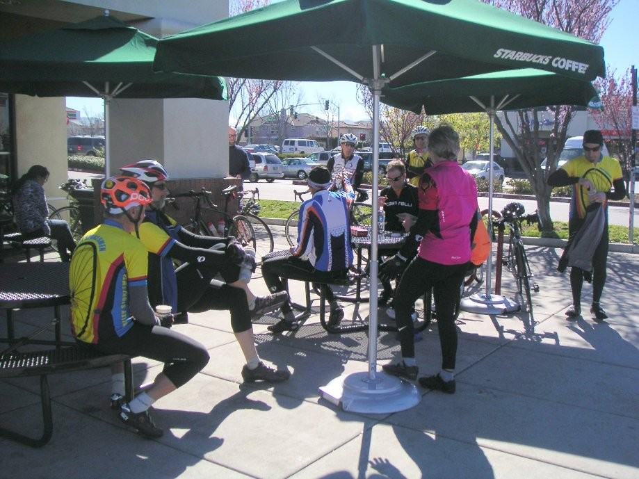 Trip photo #7/11 Refreshment stop at Starbucks