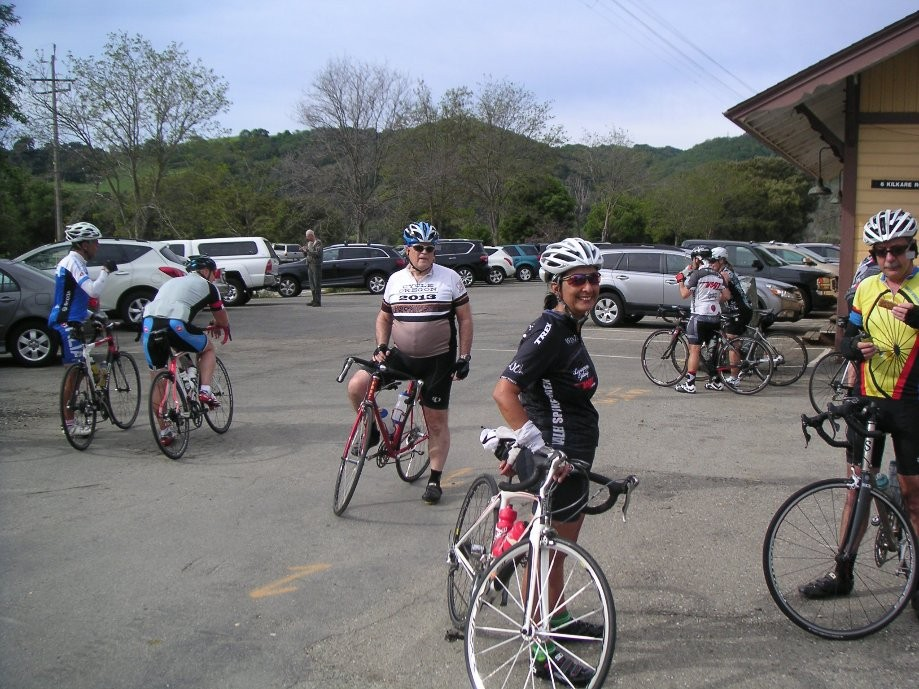 Trip photo #2/31 Regroup at Sunol RR station