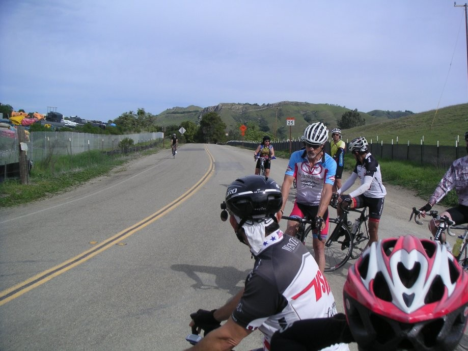 Trip photo #6/31 Regroup at 1st summmit on Calaveras