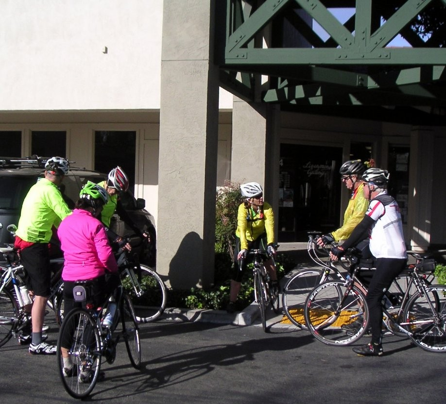 Trip photo #1/6 Start at the Dublin location of Livermore Cyclery