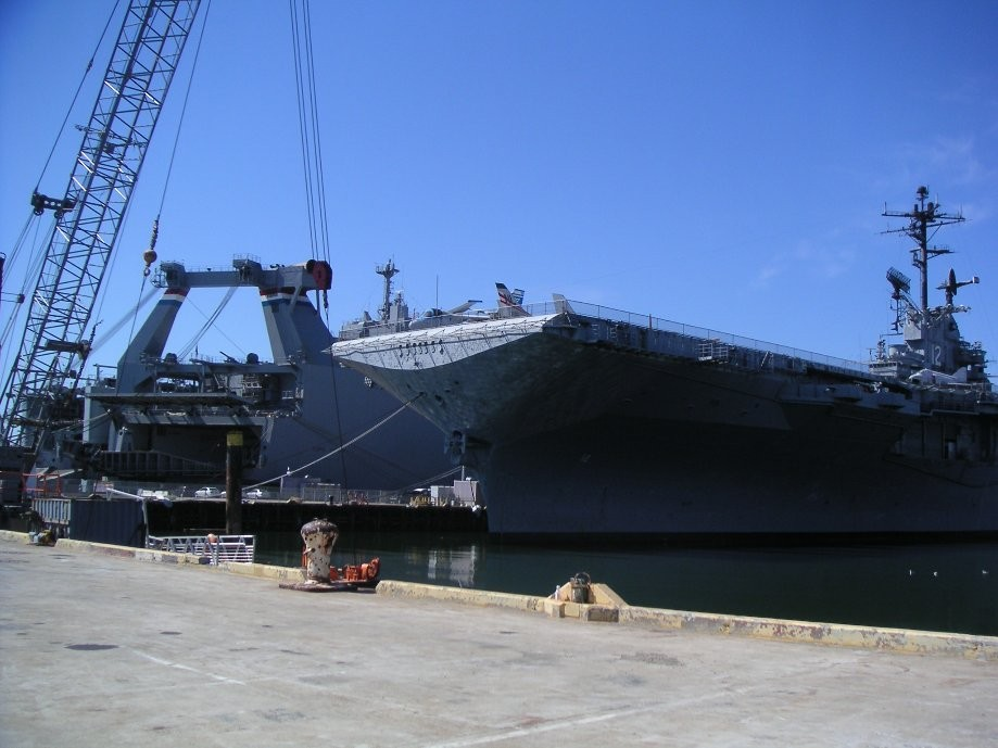 Trip photo #18/31 USS Hornet aircraft carrier