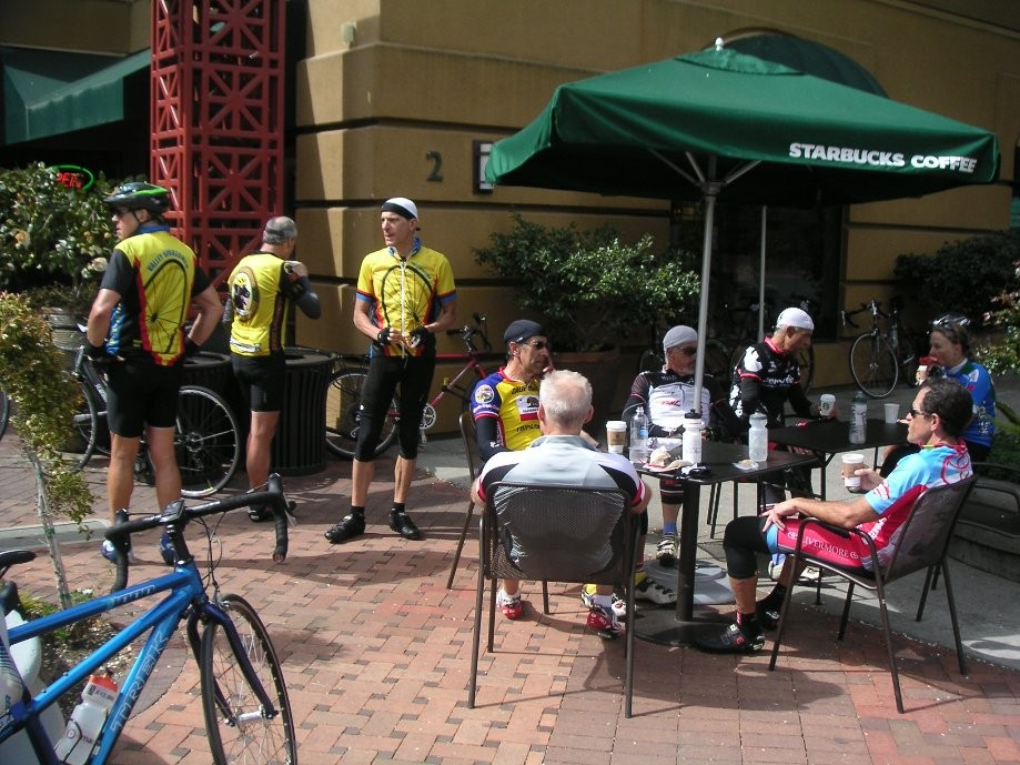 Trip photo #16/21 Refreshment stop at Theater Square in Orinda