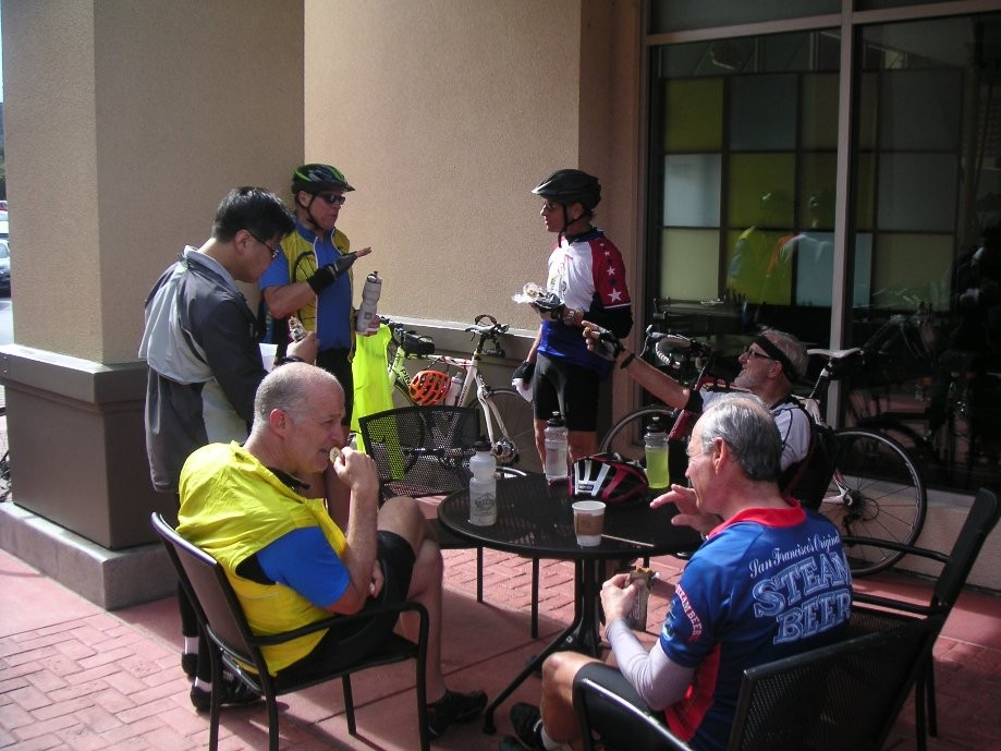 Trip photo #6/17 Refreshment stop at Peet's in Pinole