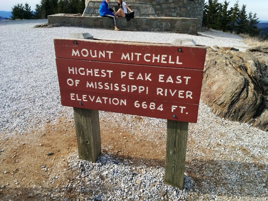 Trip photo #8/11 Highest peak east of the Mississippi river.  The hike here was 1.5 miles from base camp.