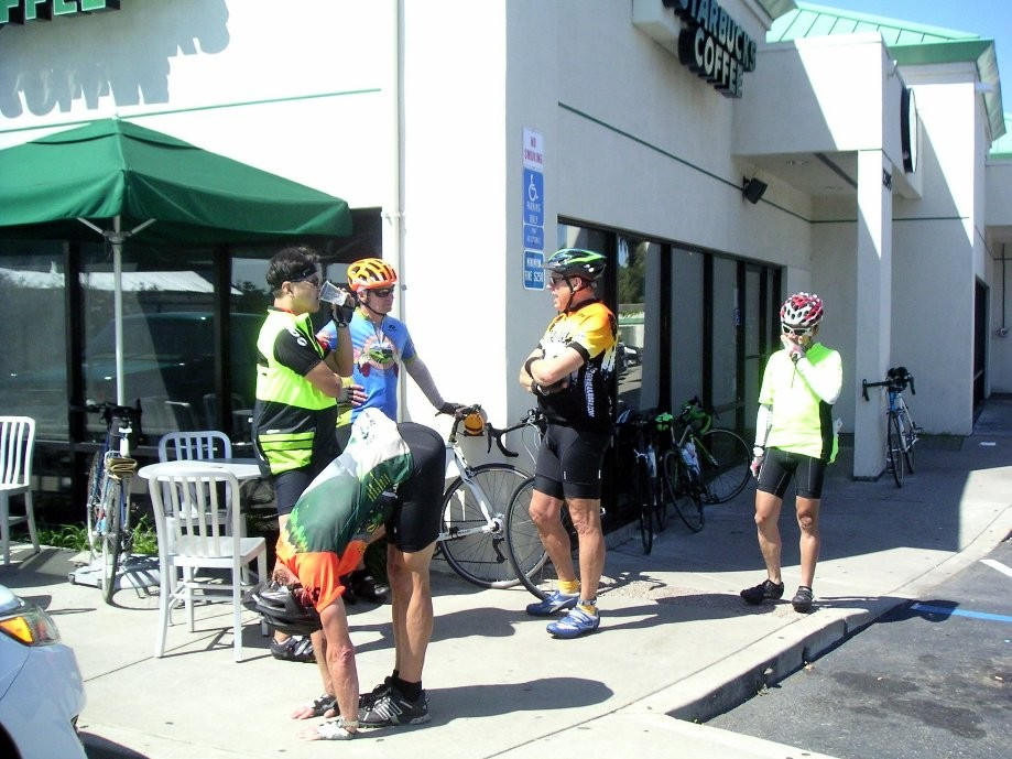 Trip photo #9/12 2nd refreshment stop in Castro Valley