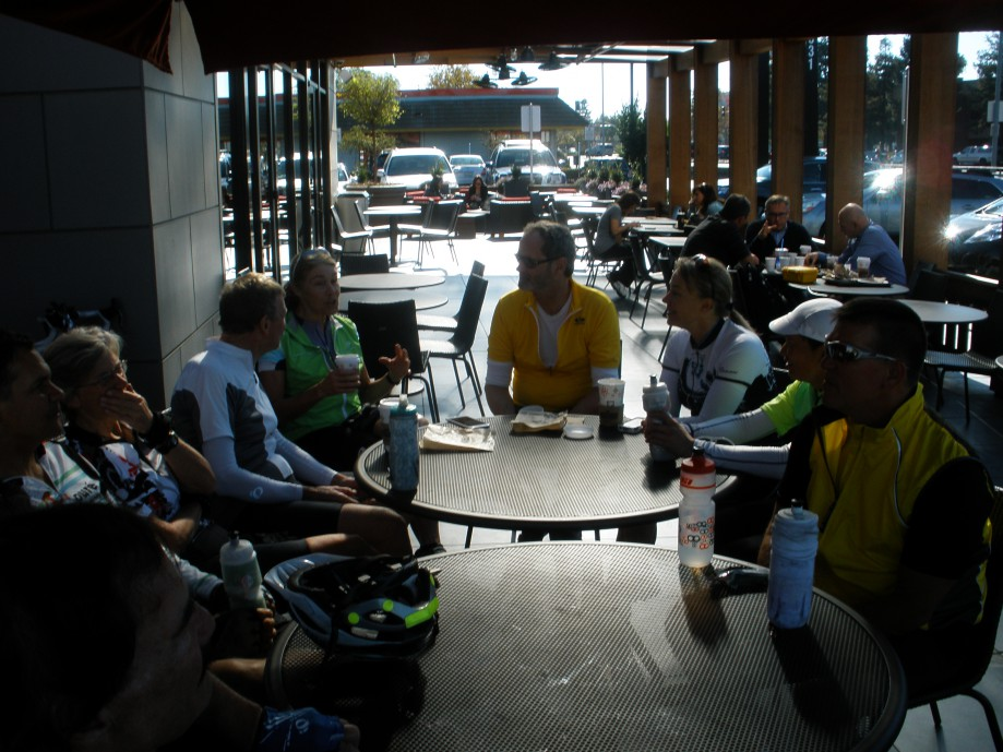 Trip photo #13/18 Refreshment stop at Specialty's/Peet's