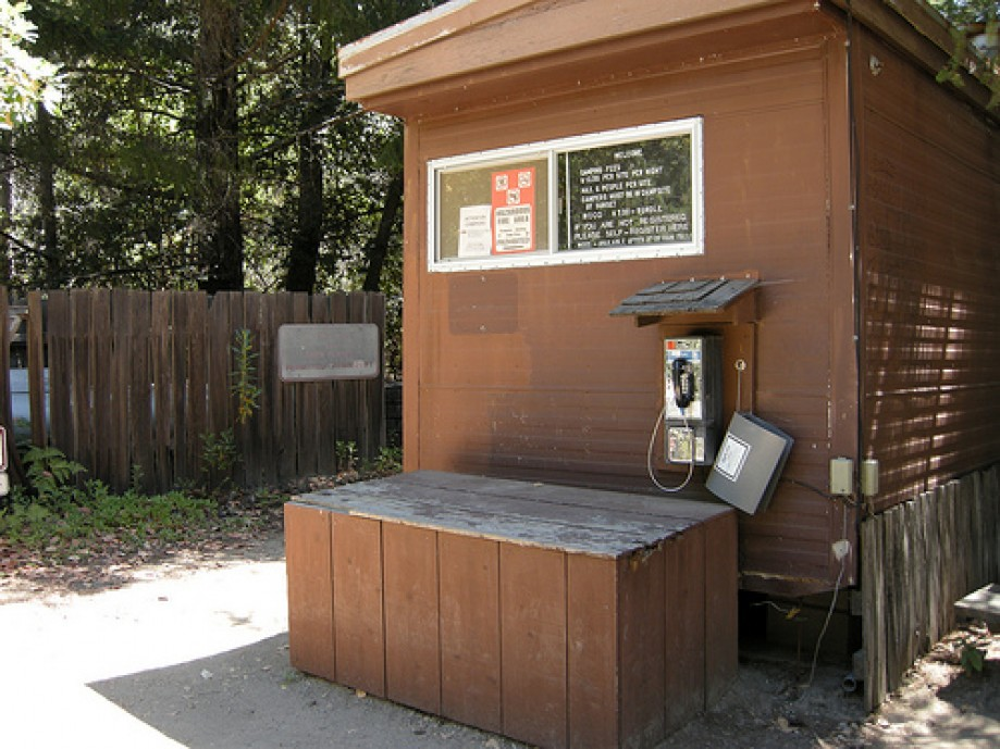 Trip photo #34/134 Payphone at Campground