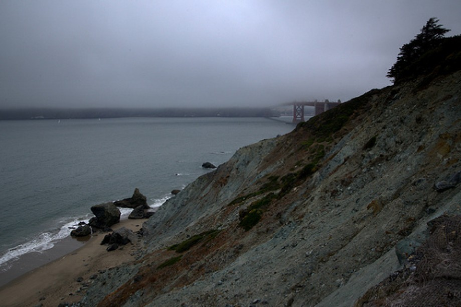 Trip photo #1/28 Golden Gate Bridge in Fog
