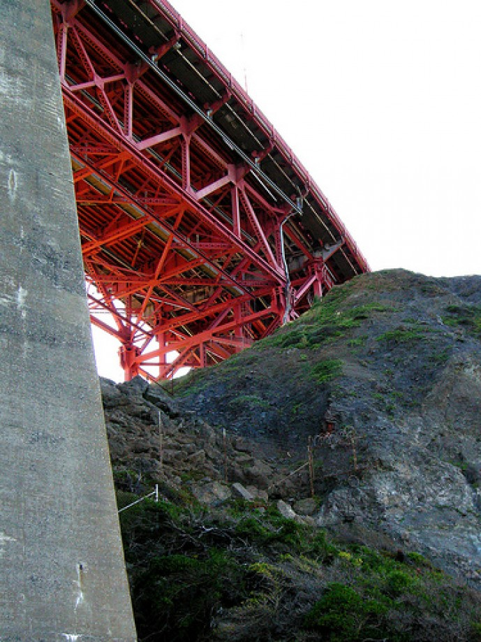 Trip photo #38/50 Under The Golden Gate Bridge