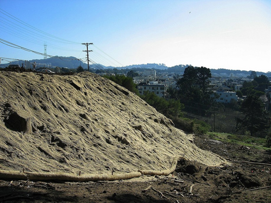 Trip photo #12/29 Erosion Control for Letterman Hospital